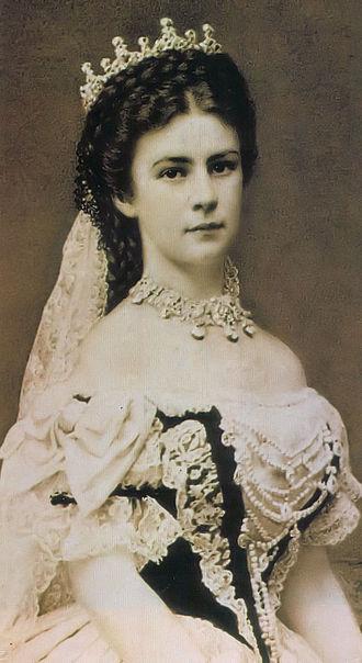 Elizabeth was crowned Queen of Hungary in 1867