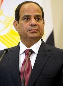 The president of Egypt
