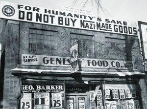 Boycott of stores in America in 1933