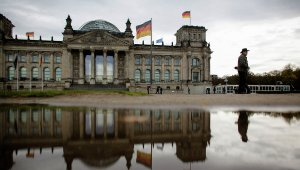 German Reichstag building in Berlin