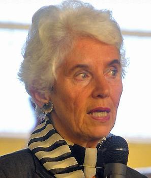 Eva Clarke was born in Mauthausen camp