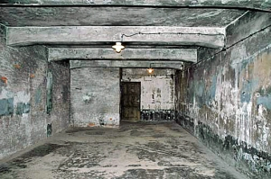 My 2005 photo of the gas chamber in the Auschwitz main camp