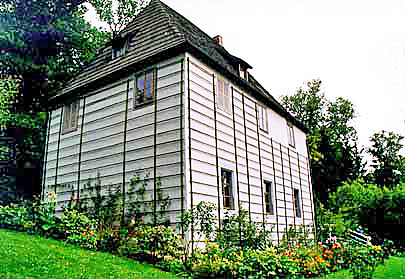 Goethe's garden house in Weimar, Germany