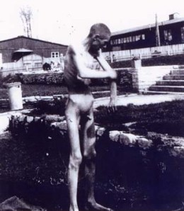 Prisoner at Buchenwald who was indifferent to nudity