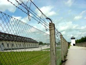Entrance into Dachau camp in 2003