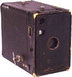 Box camera used in the 1940ies in America