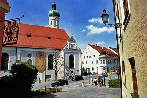 The town of Dachau