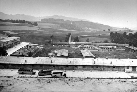 The Melk prison camp which was a sub-camp of Mauthausen