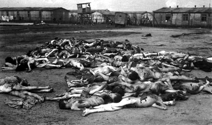 30,000 corpses were found by the British at Bergen-Belsen