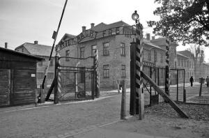 Arbeit macht Frei gate at Auschwitz.