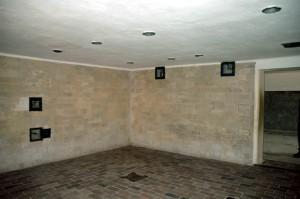 My photo of the Dachau gas chamber