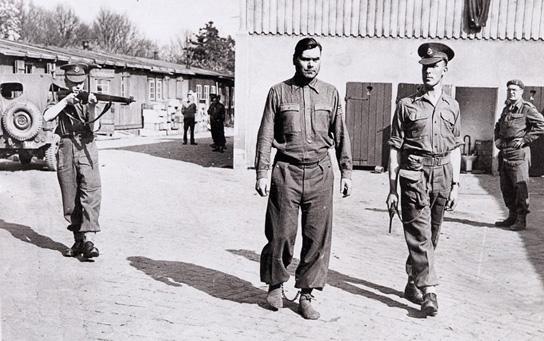 Josef Kramer was arrested after he offered to help the British