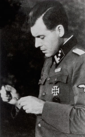 Dr. Josef Mengele, who did selections for the gas chamber at Aushwitz