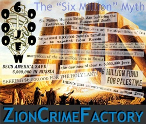 List of the number of times that 6 million Jews were killed