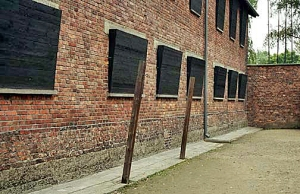 Block 10 at Auschwitz main camp where Dr. Mengele did experiments on twins