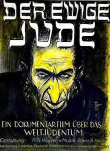 Anti-Semitic WWII poster in Germany
