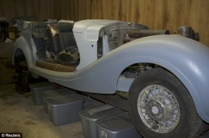 Mercedes Benz once owned by Hermann Goering