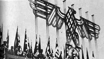 Nazi emblem designed by Albert Speer