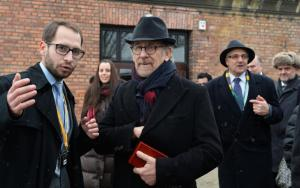 Steven Spielberg on his visit to Auschwitz January 27, 2015