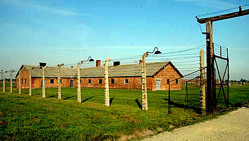 Disinfection building at Auschwitz-Birkenau