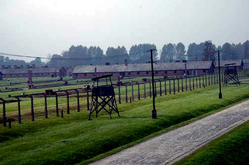 Women's camp at Auschwitz Birkenau