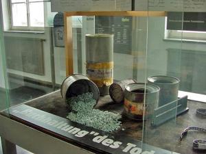 Zyklon-B gas pellets