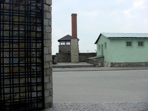 Crematorium at Mauthausen was under the green building