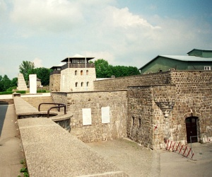 Entrance into the Mauthausen camp