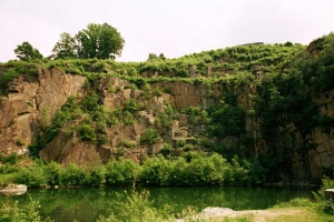 This cliff at Mauthausen was called the