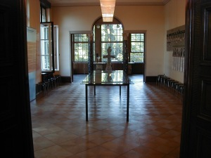The Wannsee house dining room as it looks today