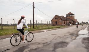 Bicycle ride from Auschwitz-Birkeanu to Krakow on June 5, 2015 (Photo Credit: Jakub W. Bodek)