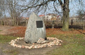 Monument to the Jews who were killed at Chelmno