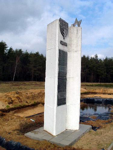 Monument to the Jews who were killed at Chelmno (Photo credit: Alan Collins)