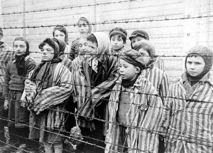 This photo of child survivors of Auschwitz was taken about 4 weeks after the camp was liberated