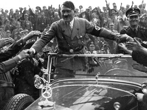 Hitler, who was the most evil man in the world, had no fear of his admirers