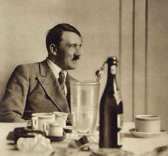 Hitler took tea every day in one of his tea houses