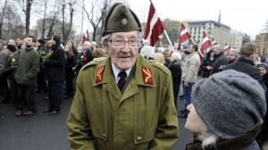 Latvian man was a soldier in the Waffen-SS in WWII