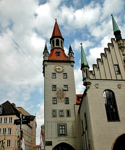 Historic Rathaus in Munich