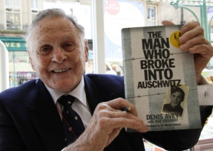 This photo of Dennis Avey accompanies the news article about his death