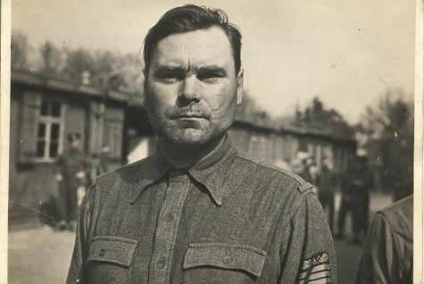 Josef Kramer, the commandant of the Bergen-Belsen camp