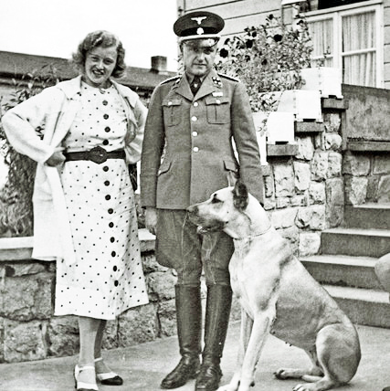Ilse Koch and her husband Karl Otto Koch