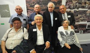 Holoaust survivors who were saved when they were sent to the UK