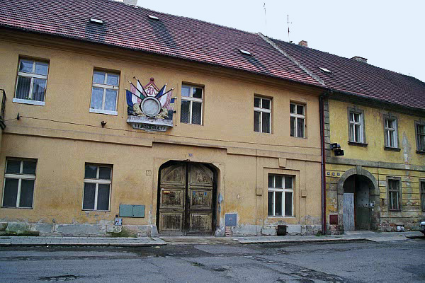My photo of one of the buildings in the Theresienstadt ghetto