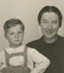 Frank Misa Grunwald as a young child