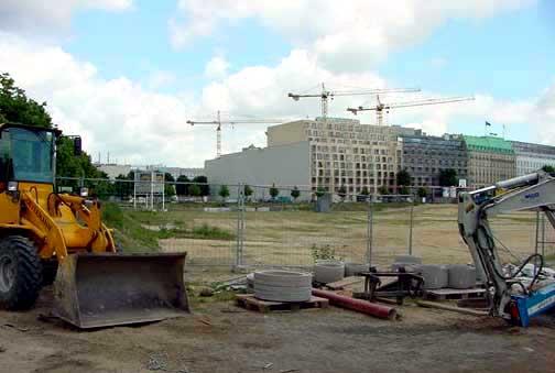 My photo, taken in 2002, shows the view of Behrestrasse