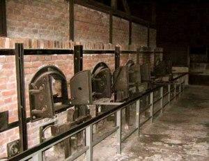 Cremation ovens at Majdanek death camp