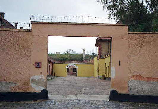 Gate into the Small Fortress at Theresienstadt