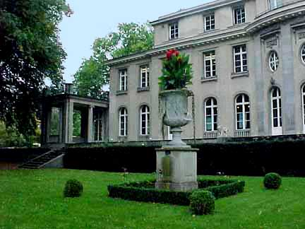 The house where the Wannsee conference was held