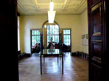 The dining room of the Wannsee house where the conference was held
