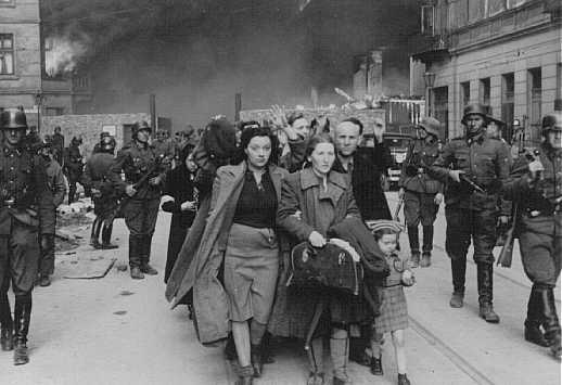 Photo taken in Warsaw ghetto